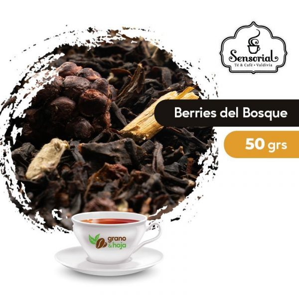Té Negro Berries del Bosque