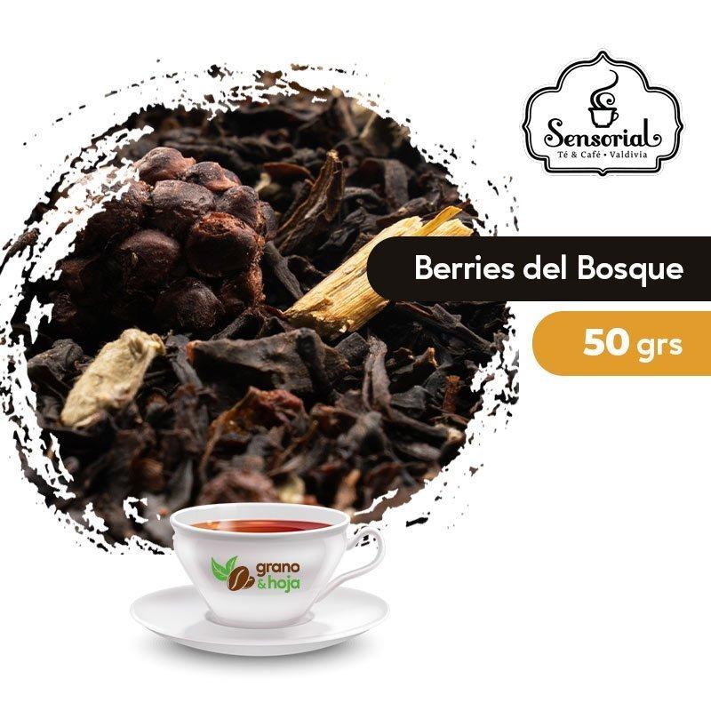 Té Negro Berries del Bosque