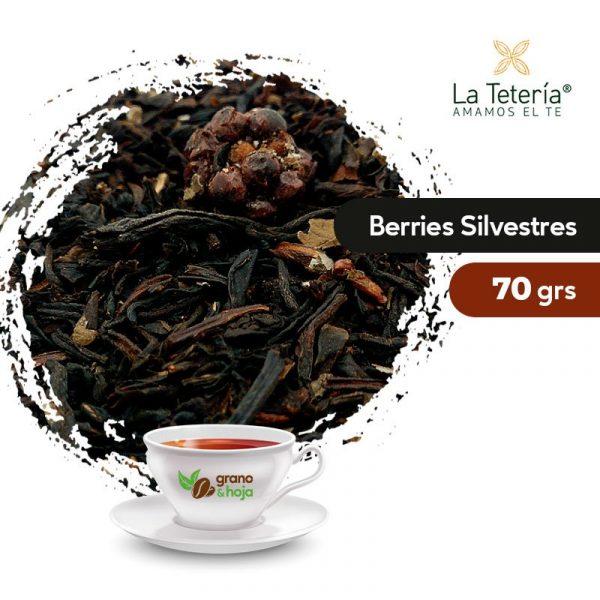 Té Negro Berries Silvestres 70grs