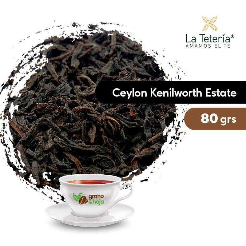 Té Negro Ceylon Kenilworth Estate OP1 80grs