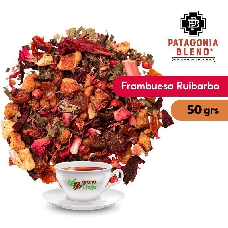 Infusión Patagonia Blend Frambuesa Ruibarbo