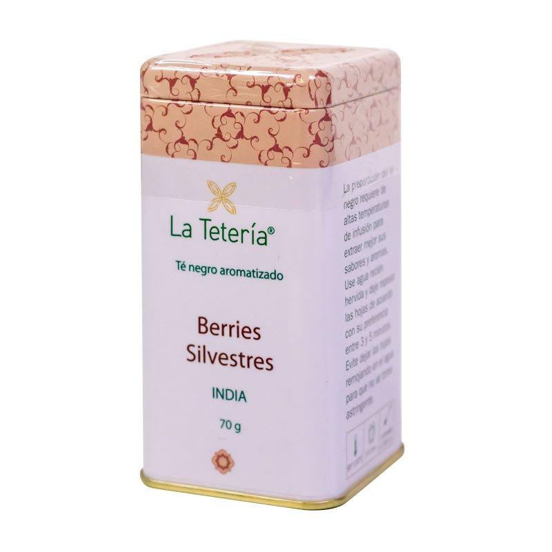 Té Negro Berries Silvestres 70grs La Tetería