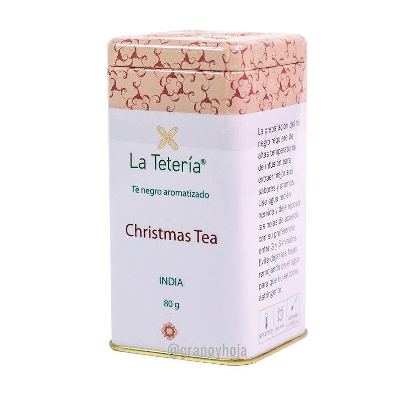 Té Negro Christmas Tea India 80grs La Tetería