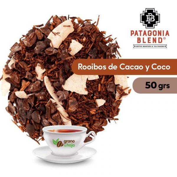 Infusión Patagonia Blend Rooibos con Cacao y Coco