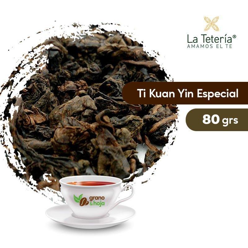 Té Oolong Ti Kuan Yin Especial 80grs