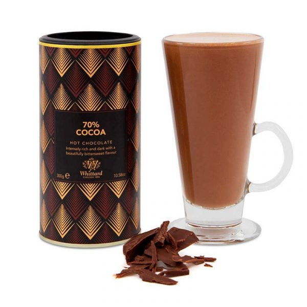 Chocolate Caliente 70% Cacao350 grs