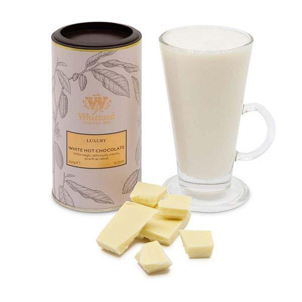 Chocolate Caliente Blanco de Lujo 350grs