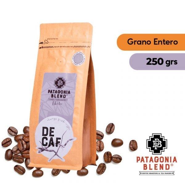Café Descafeinado Grano Entero 250grs