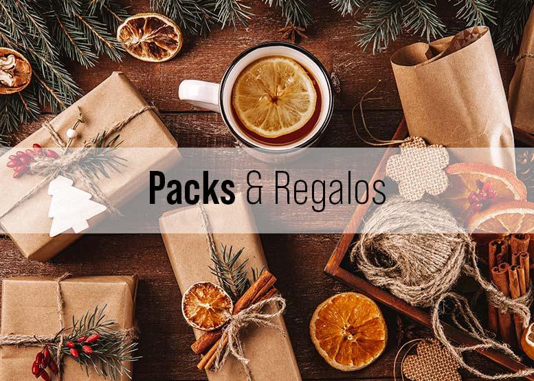 Categoría de Packs y Regalos
