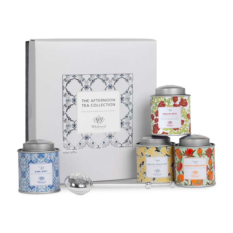 Set Té Hebras The Afternoon Collection + Infusor