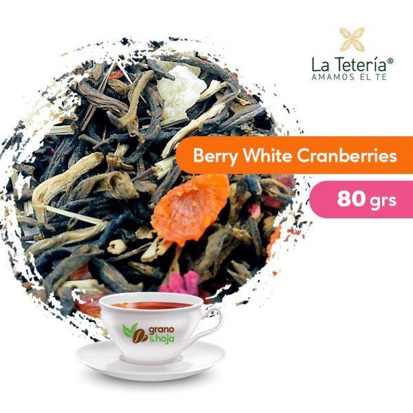 Té Blanco Berry White Cranberries 80grs