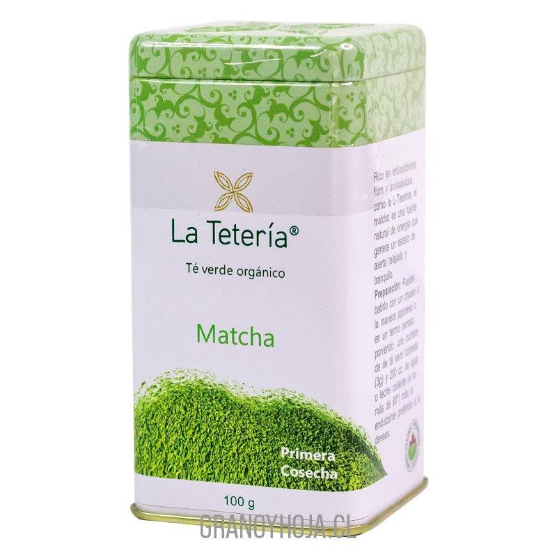 Te de Matcha Orgánico 100gr La Tetería