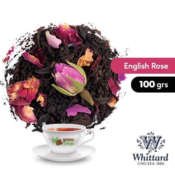 Té Negro English Rose 100grs