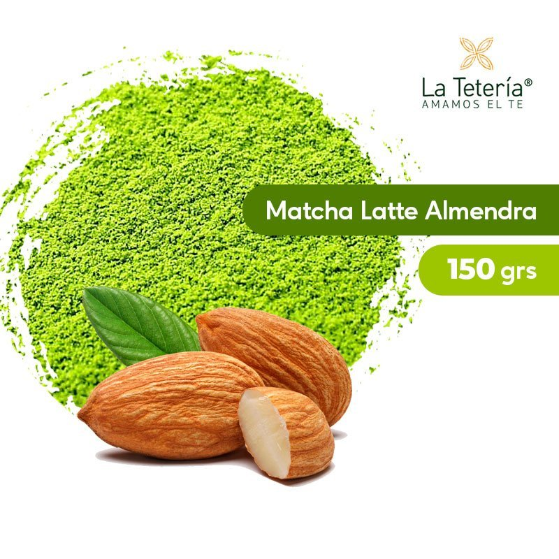 Té Verde Matcha Orgánico Latte Almendra 150grs