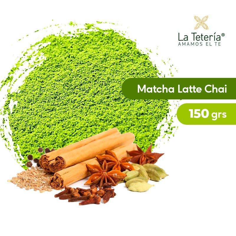 Té Verde Matcha Orgánico Latte Chai 150grs