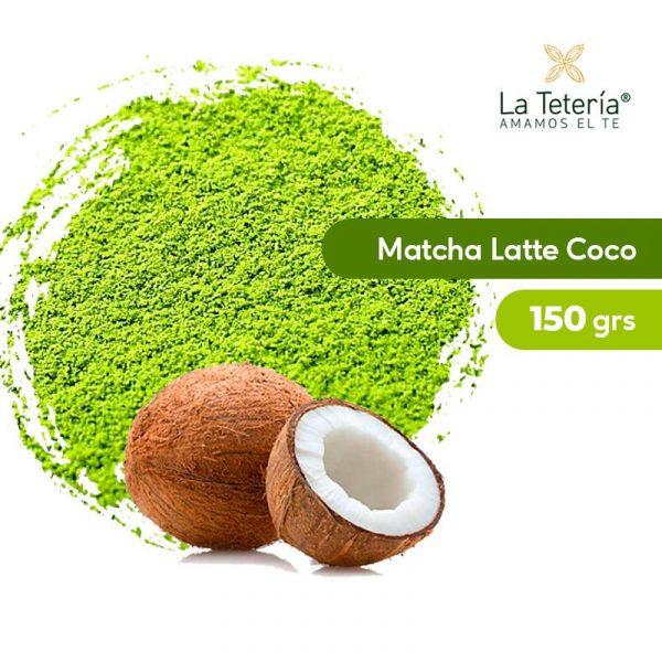 Té Verde Matcha Orgánico Latte Coco 150grs