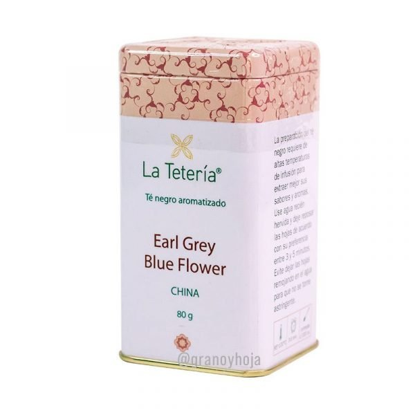 Té Negro Earl Grey Blue Flower China 80grs La Tetería