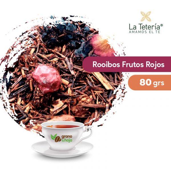 Rooibos Frutos Rojos 80grs
