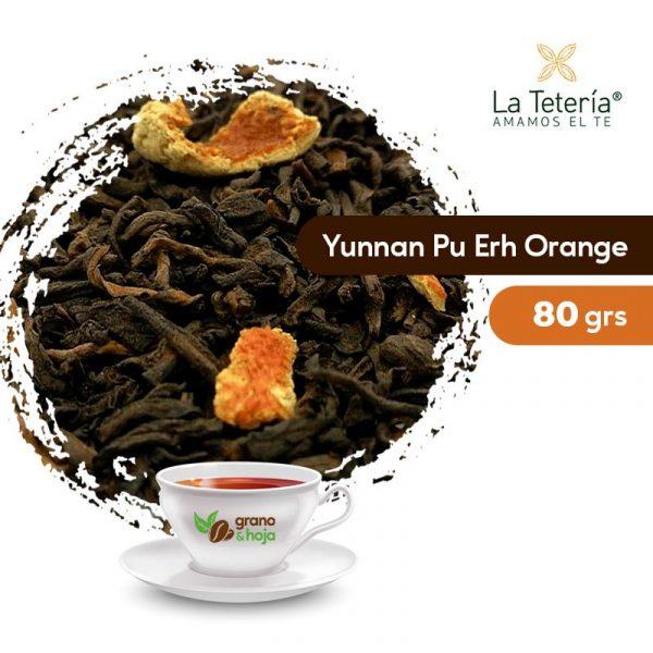 Té Rojo Yunnan Pu Erh Orange 80grs
