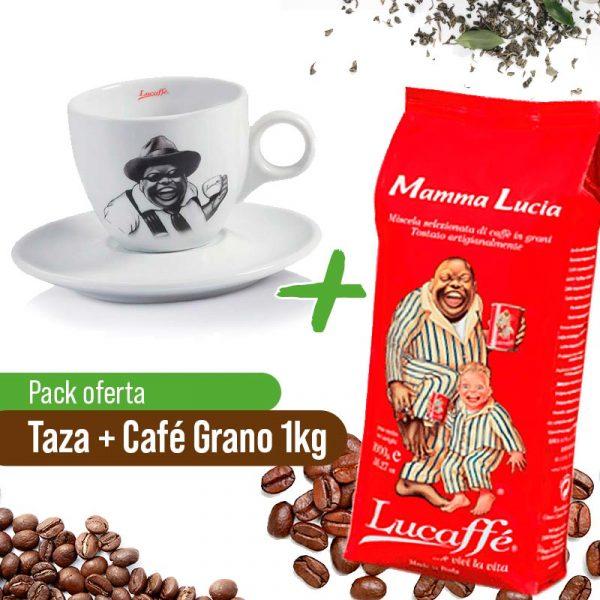 Taza + Café Grano Lucaffe