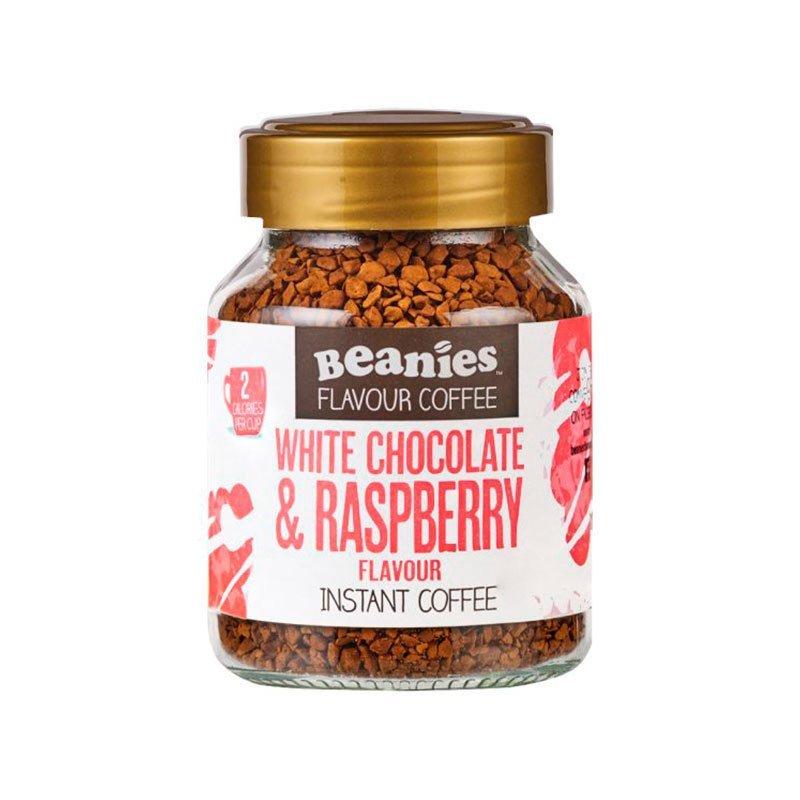 Café Beanies White Chocolate & Raspberry