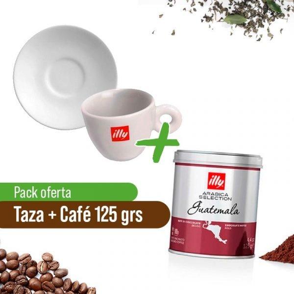 Taza Exp+ Café Molido Guatemala Illy