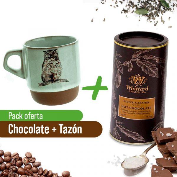 Taza + Chocolate Caliente Caramelo Whittard