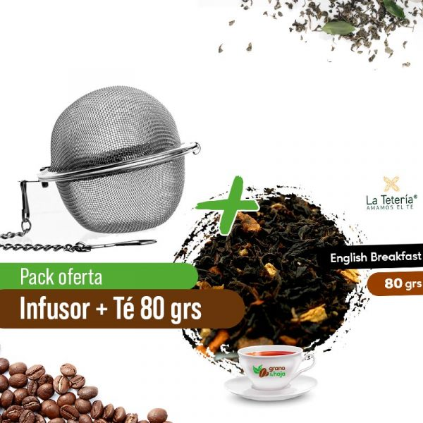 Infusor + Earl Grey Breakfast Tetería