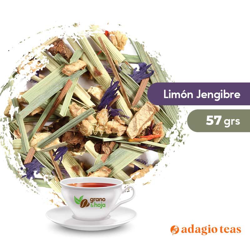 Infusión Adagio Limón Jengibre 57grs