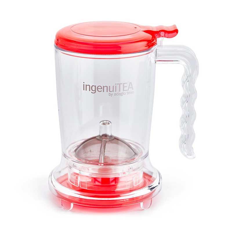 Tetera IngenuiTea 450 ml Roja Adagio