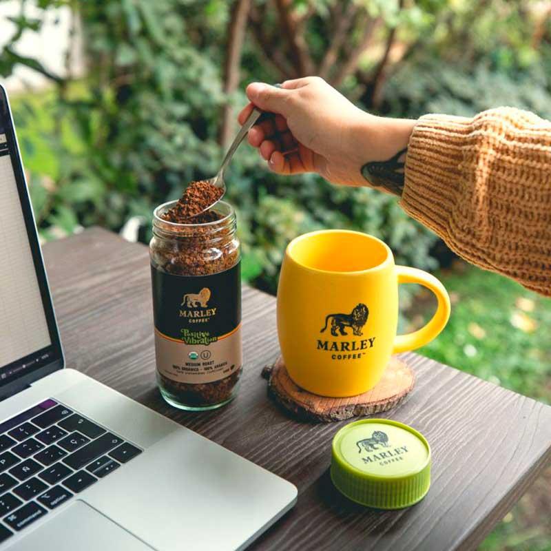 Café Marley Coffee Orgánico Positive Vibration