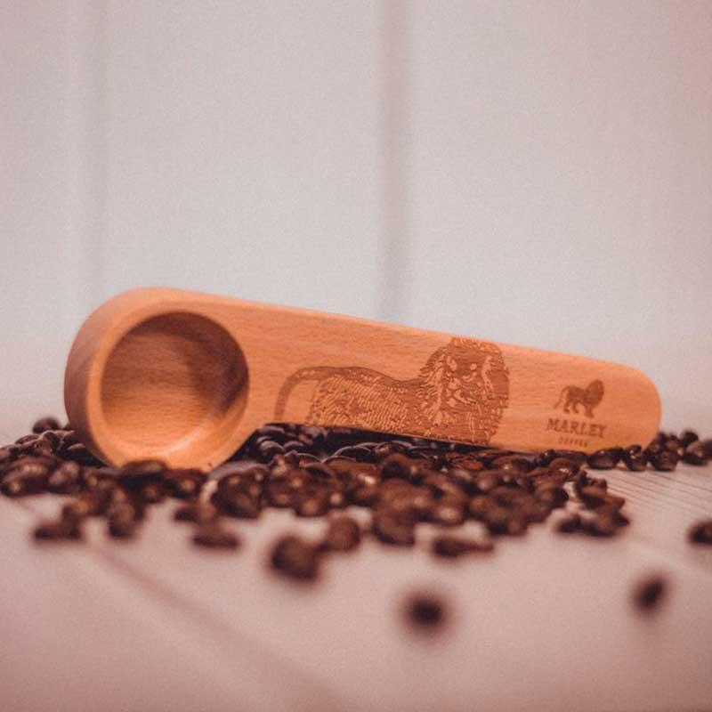 Cuchara madera Marley Coffee