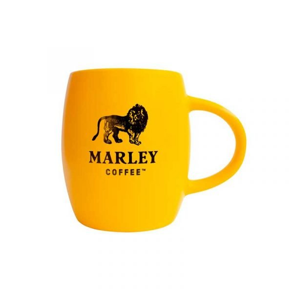 Tazón Mug Marley Coffee Amarillo