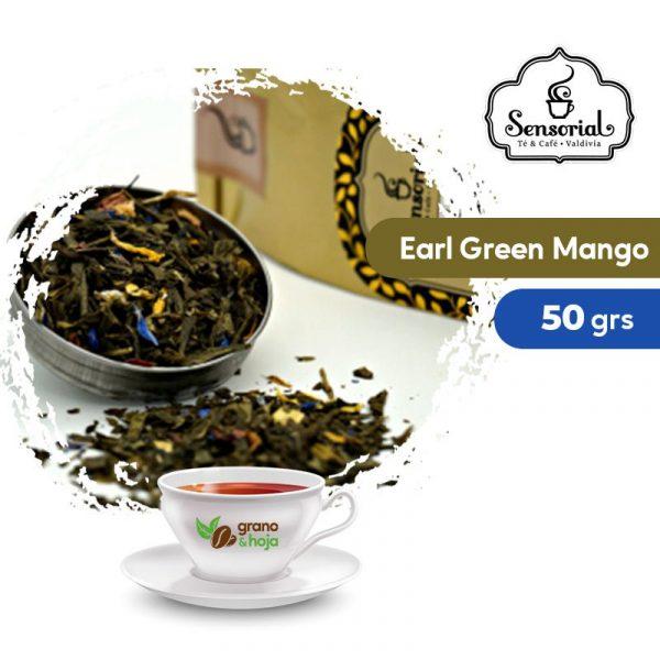 Té Verde Sensorial Earl Green Mango