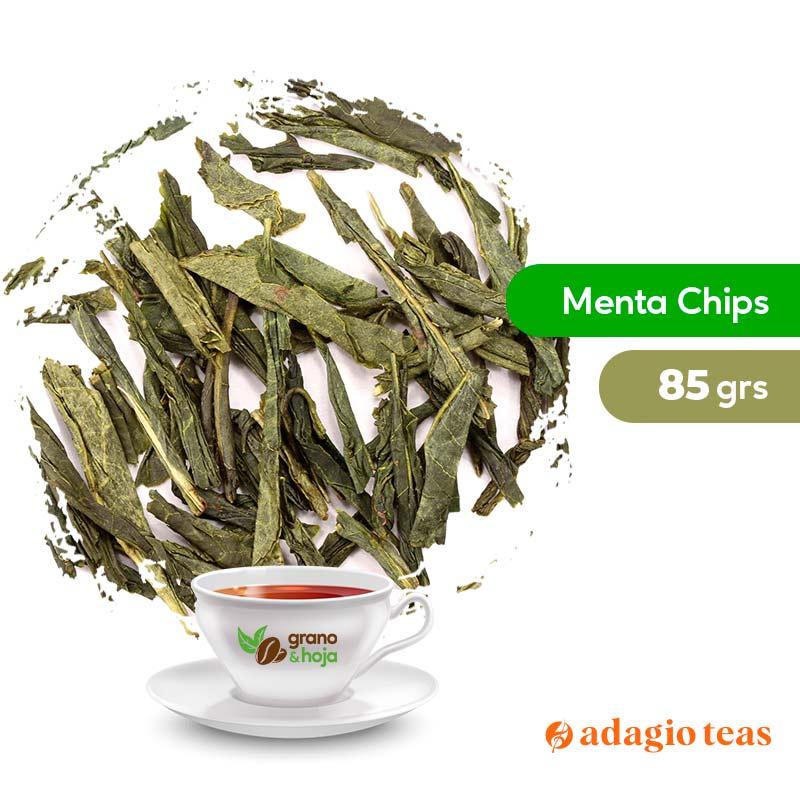 Te Verde Adagio Menta Chip 85grs