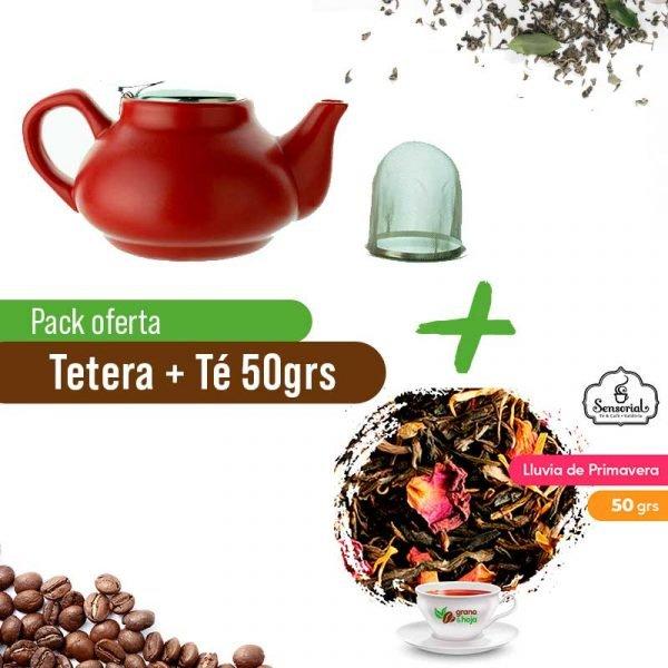 Tetera + Té Sensorial 50grs