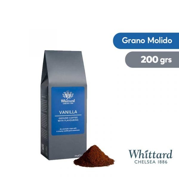 Café Whittard Molido Vainilla 200grs