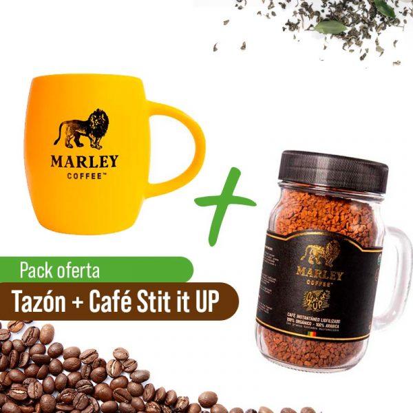 Taza Marley Coffee + Café Stir it up