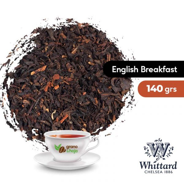 Té Whittard Negro English Breakfast 100grs