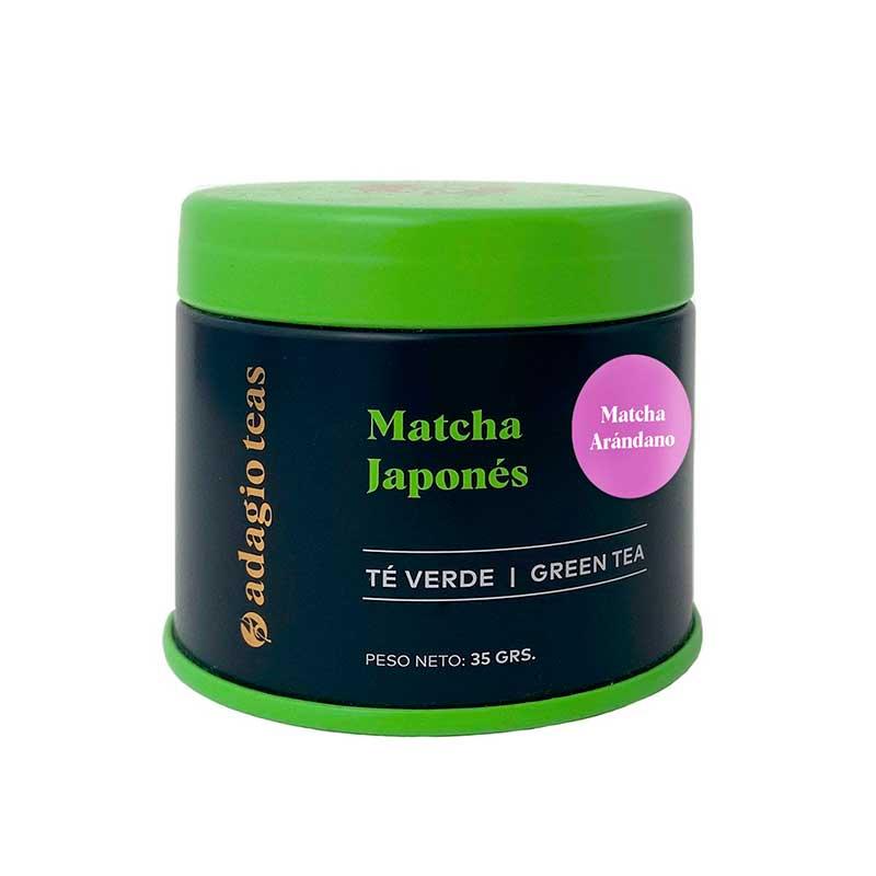 Té Verde Matcha Arándano 35grs Adagio