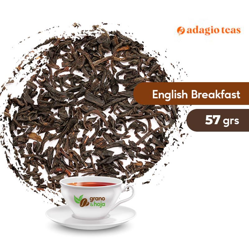 Té Negro Adagio English Breakfast 57grs.