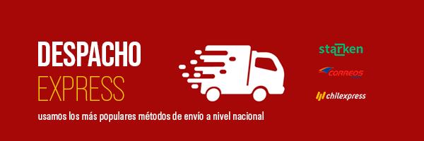 Despacho delivery express Grano y Hoja en todo Chile