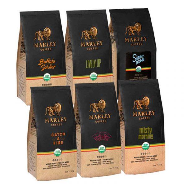 Pack Café Marley Coffee x6