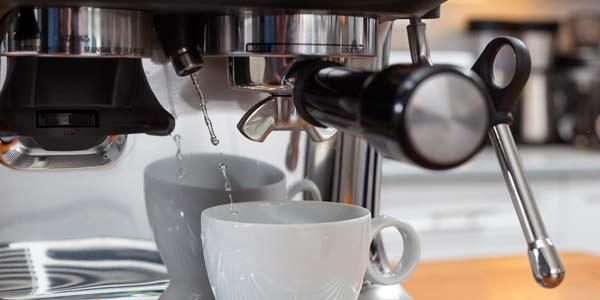 Paso 1 preparar cafe americano