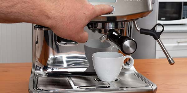Paso 6 preparar cafe americano