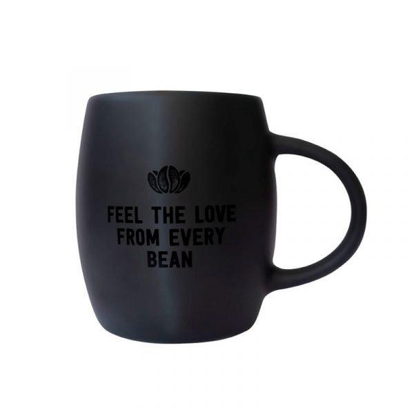 Tazón Mug Marley Coffee Negro